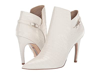 Sam Edelman Fiora (Modern Ivory Kenya Croco Embossed Leather) Women