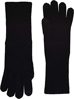 Long Knit Tech Gloves