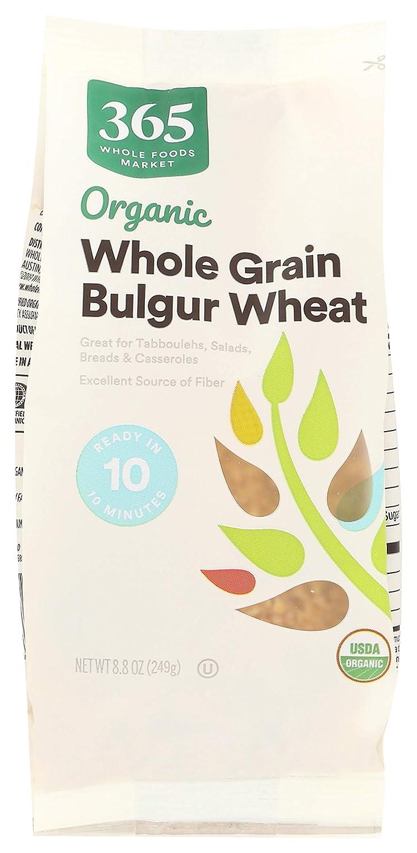 365 by WFM, Bulgur Wheat Whole Grain Organic, 8.8 Ounce