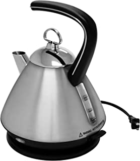 Chantal Ekettle Electric Water Kettle, Brushed Stainless Steel