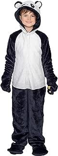 Child Panda Flappy Suit Halloween Costume Jumpsuit