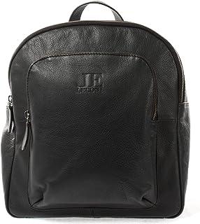 LECONI kleiner Rucksack Freizeitrucksack Damenrucksack backpack Cityrucksack Lederrucksack für Damen und Herren Leder 28x30x15cm LE1024