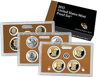 2012 S U.S. Mint 14 coin Clad Proof Set In OGP Proof