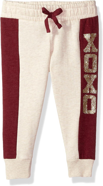 XOXO Girls' Fleece Jogger Pant
