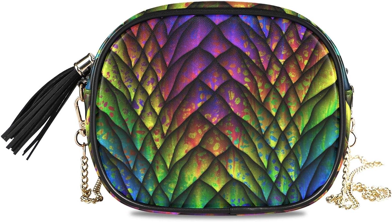 Women's Chain Shoulder Handbag Cross 100% quality warranty! Purse Body Bag PU Leather OFFicial shop