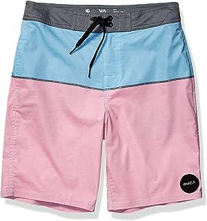RVCA Boys B105URST Spits Trunk Board Shorts - Pink