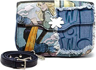 Luxury Fashion | Desigual Womens 19WAXD02BLUE Blue Shoulder Bag | Fall Winter 19
