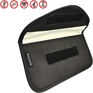 Faraday Bag, Shield Cage,RFID Signal Blocking Bag for Car Key Fob Protection, Cell Phone Privacy, Travel & Data Security, ...