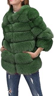 buy online d1942 f6844 Amazon.it: pelliccia ecologica: Abbigliamento