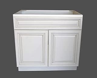 New Atique White Single-sink Bathroom Vanity Base Cabinet 36