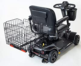 Folding Rear Basket for Pride Electric Mobility Scooter XL Heavy-Duty