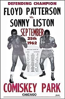 Floyd Patterson Vs. Sonny Liston Boxing Champs 14