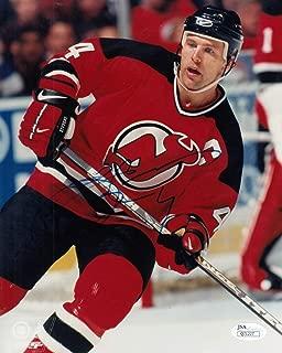 Scott Stevens Autographed Signed Memorabilia New Jersey Devils 8x10 Photograph JSA