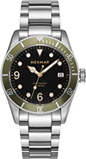 41.5mm Men's Automatic Watch 300m Diver Watch 200m Stainless Steel Watch