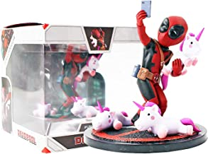 hhh Movie – Funny but Cute and Adorable Deadpool Selfie with Unicorn Action Figure – 13cm