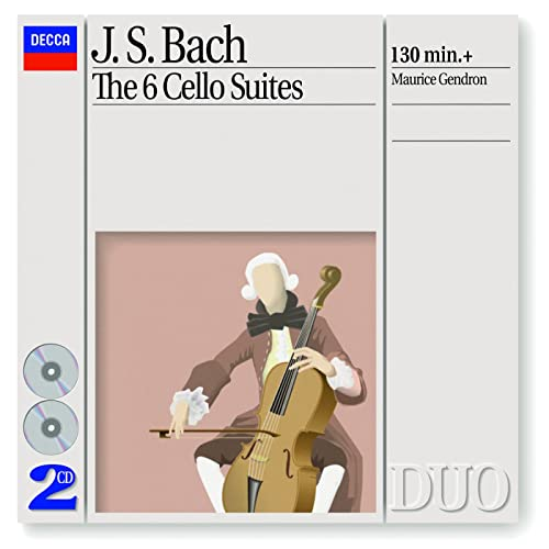 Bach, J S : The 6 Cello Suites