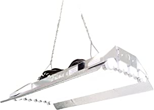 T5 HO Grow Light - 2 FT 8 Lamps - DL828S Fluorescent Hydroponic Indoor Fixture Bloom Veg Daisy Chain with Bulb