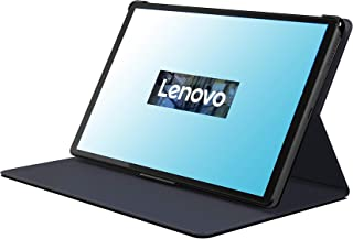Lenovo [Case] 10.3 Inch Folio Case and Screen Protector for Tablet M10 FHD Plus, Black