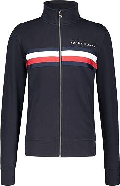 Tommy Hilfiger Hilfiger Logo Zip Through Sweater Homme