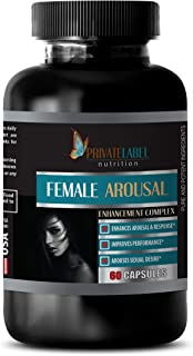 Women Horny Sexual Pills - Female Arousal Enhancement Complex - Improves Performance - Horny Goat Weed Extract with maca &...