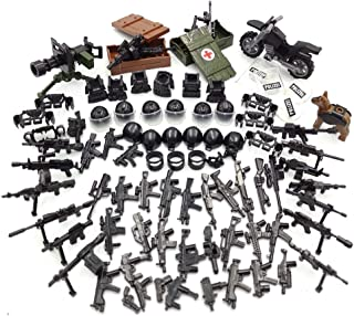 SPRITE WORLD Police SWAT Weapons Pack Border Protection 9th Brigade - Custom Army Builder Military Battle Brick