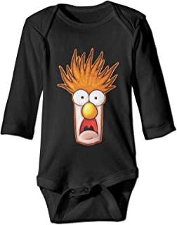 Onita Beaker-The Muppets Strampelanzug, langärmelig, für Neugeborene