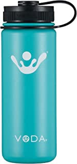 VODA Flask 18 oz. Wide Mouth Vacuum Insulated Water Bottle