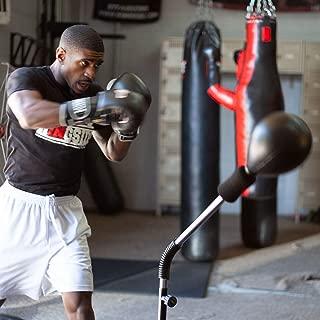 Ringside Cobra Reflex Free-Standing Adjustable Boxing Fitness Workout Punching Bag (Renewed)