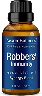 Robbers' Immunity Essential Oil Blend 30 ml - Comparable to On Guard Essential Oil - Purifying and Detoxify...