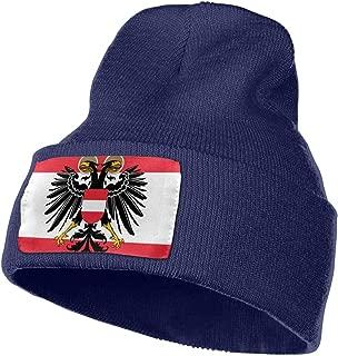 Austrian Flag Unisex Beanie Caps Knit Skull Hat Winter Wool Hats