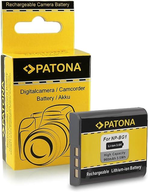 Bateria NP-BG1 para Sony CyberShot DSC-H3   H7   H9   H10   H20   H50   H55   H70   H90   N1   N2   T20   T100   W30   W35   W40   W50   W70   W80   W80HDPR   W90   W100   W110   W120   W130   W150