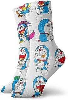 SJPillowcover, Doraemon - Calcetines cortos unisex para adultos