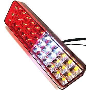 72発 LED スズキ ジムニー 用 テール ランプ 左右 セット リフレクター 付き スモール ブレーキ ウインカー バック ライト JA11/JA12/JA22 等 社外品