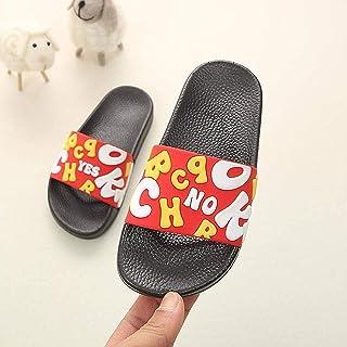 Summer Kids Slippers Baby Boys Beach Sandal Cartoon Toddler Girl Flip Flops New Indoor Soft Non-Slip Children Home Bathroo...