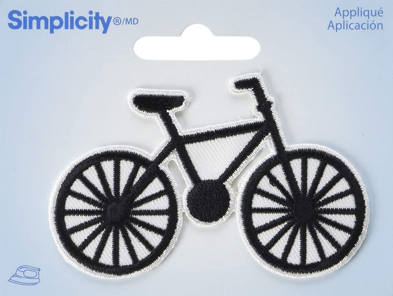 Wrights Bicycle Iron-On Applique