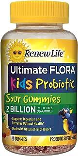 Renew Life - Ultimate Flora 益生菌软糖 - 儿童益生菌 - 20 亿 - 60 粒咀嚼酸软糖
