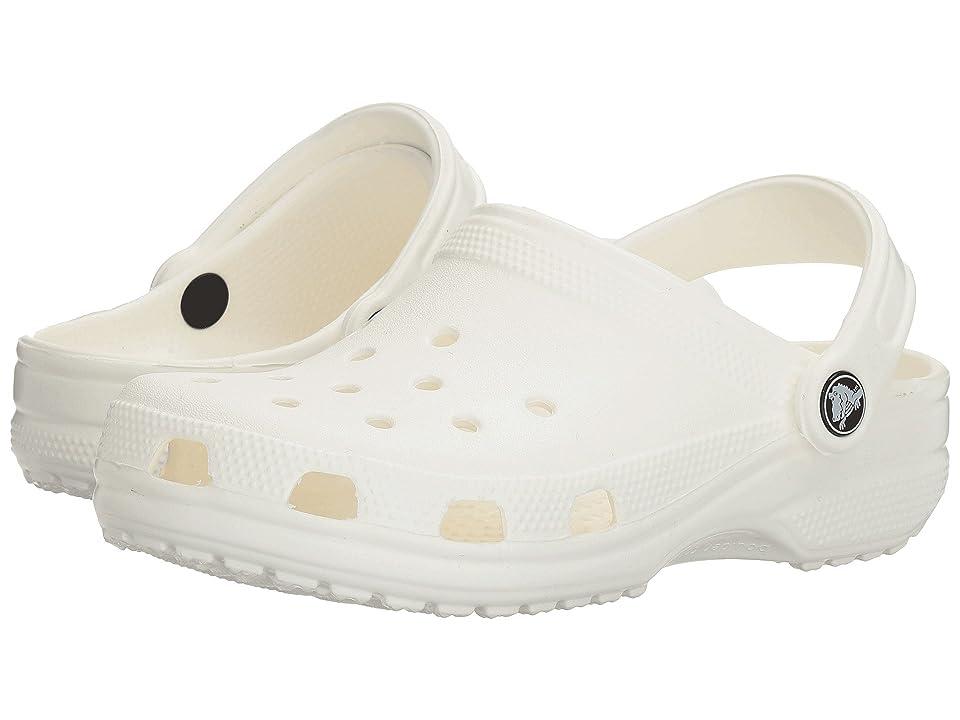Crocs Classic Clog (White) Clog Shoes