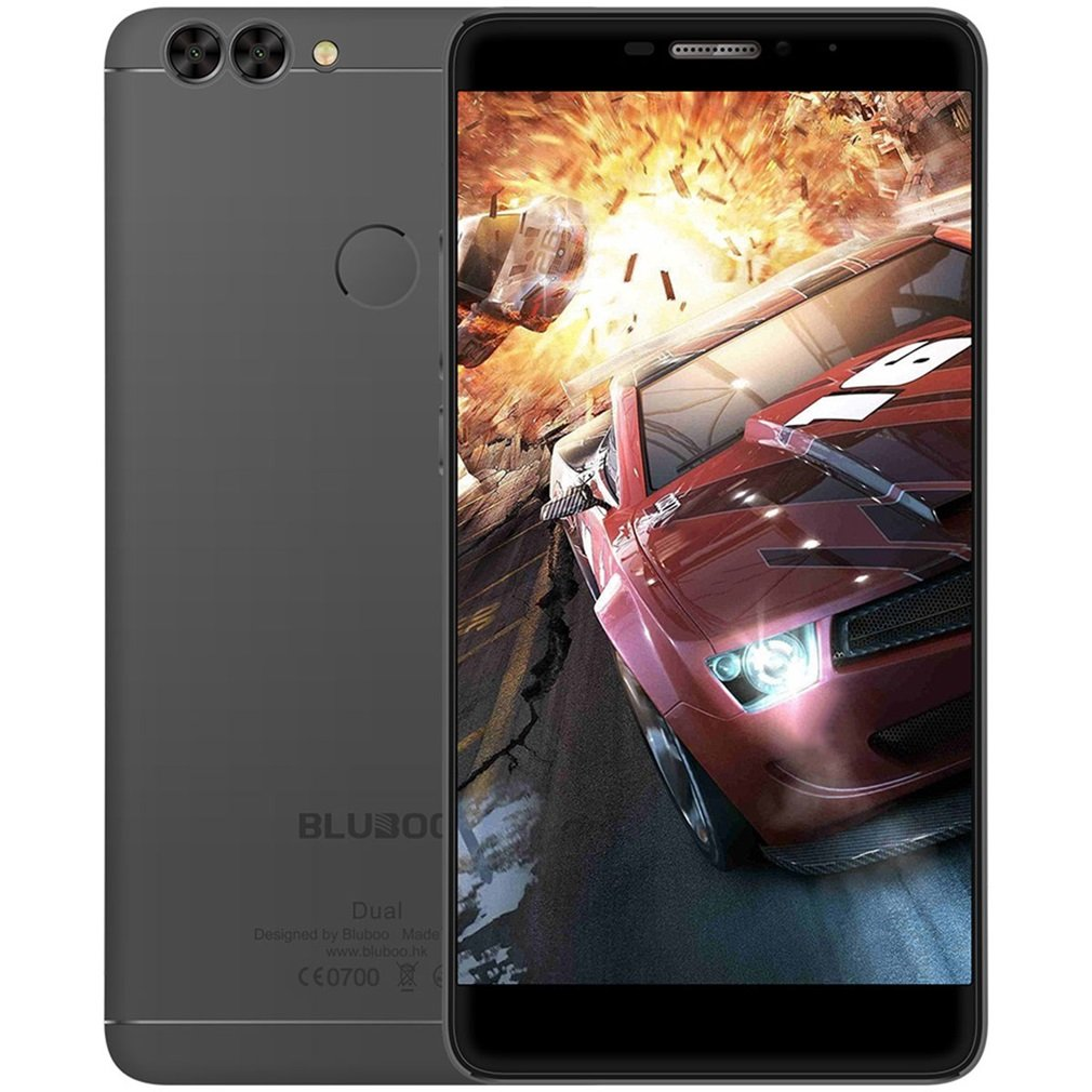 BLUBOO Dual Smartphone Android 6.0 4 G FDD de LTE 5.5 pulgadas mtk6737t 1.5 GHz Quad Core 2 G RAM + 16 G ROM 2 MP + Cámaras de Principal 13MP Dual 8 MP cámara frontal: Amazon.es: Electrónica