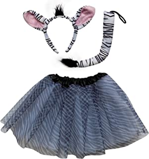 zebra tutu outfit
