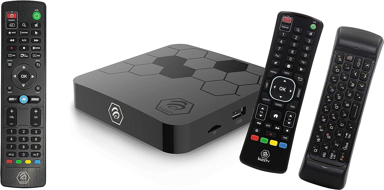 BuzzTV XR4500 ARQ100 Bundle- Android 9 Popular brand 4K Ram Ultra 1 HD 2GB - Cheap mail order sales