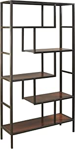 Signature Design by Ashley - Frankwell Bookcase - Contemporary - Brown/Black