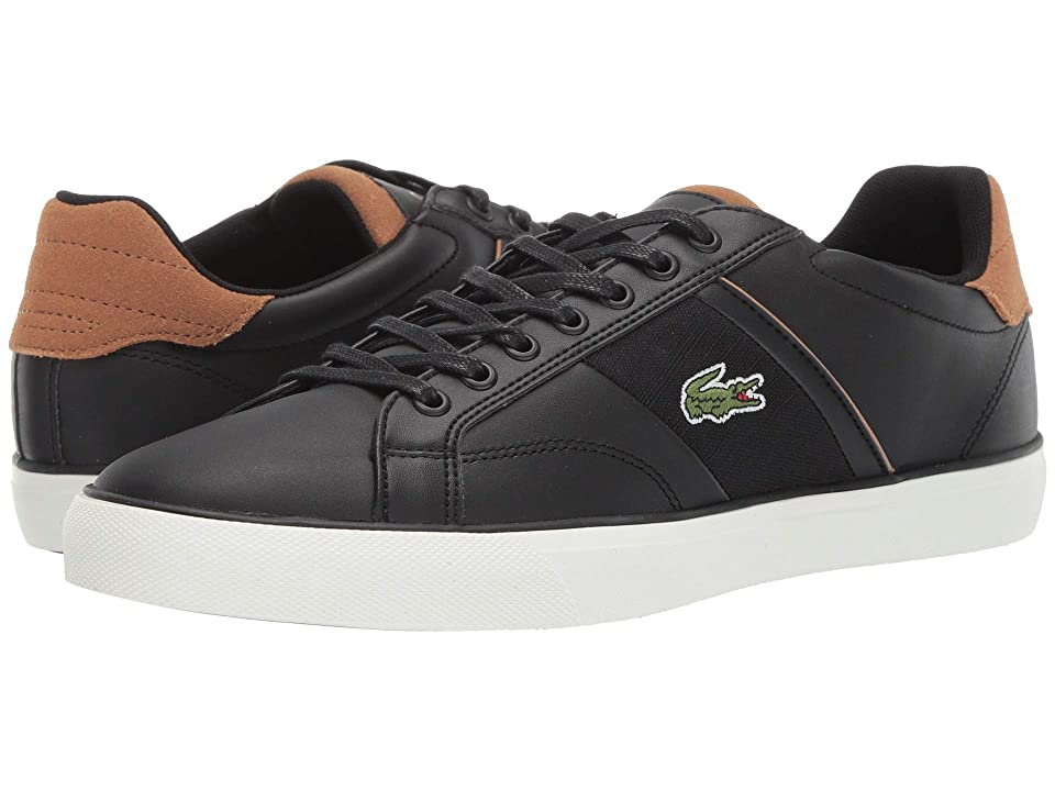 Lacoste Fairlead 119 1 CMA (Black/Light Brown) Men