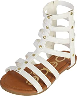 ff4ee4dc857 bebe Girls Strappy Gladiator Sandal (Toddler Little Kid Big Kid)