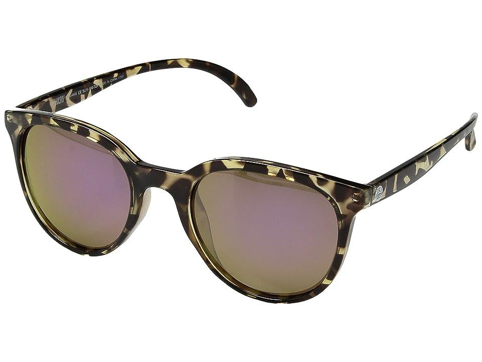 Sunski Makani (Tortoise/Purple) Sport Sunglasses