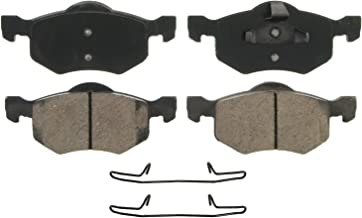 Wagner QuickStop ZD843 Ceramic Disc Pad Set Includes Pad Installation Hardware, Front