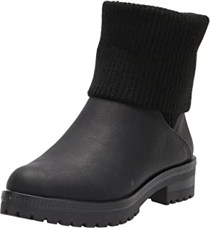 LifeStride Women's Simone Ankle Boot, Black, 6.5 Wide