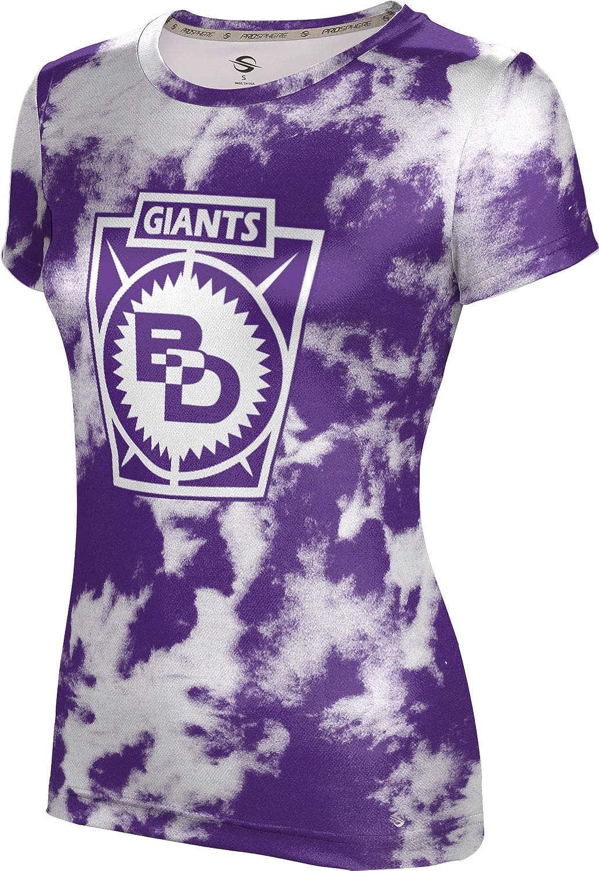 ProSphere Ben Davis High School Girls' Performance T-Shirt (Grunge)