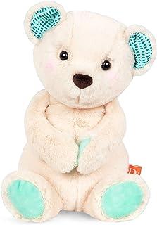 B. toys by Battat Happy Hues – Marshmallow Cuddles – Soft & Cuddly Plush Teddy Bear – Huggable Stuffed Animal Bear Toy – W...