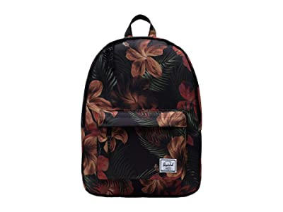 Herschel Supply Co. Classic Mid-Volume (Tropical Hibiscus) Backpack Bags
