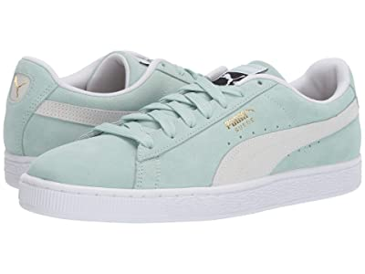 PUMA Suede Classic (Fair Aqua/Puma White) Shoes